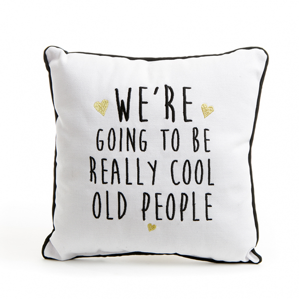 Cool old people cushion garden building supplies in for Cool homeware uk