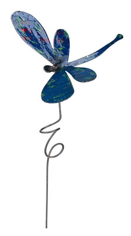 Dragonfly Garden Stake Large